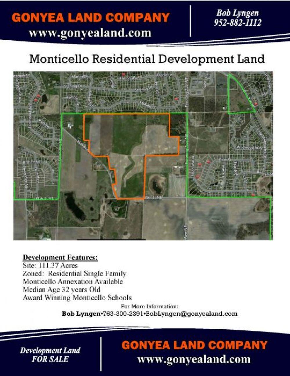29.85 acres & 25.70 acres